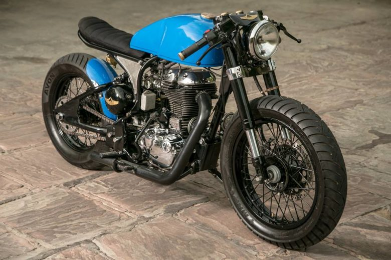 Royal Enfield Cafe Racer By Rajna