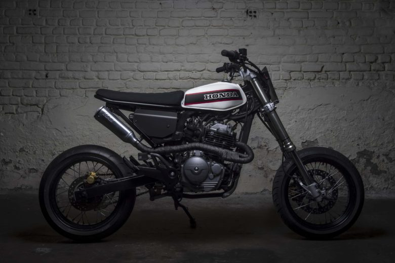 honda fmx 650 by toma customs