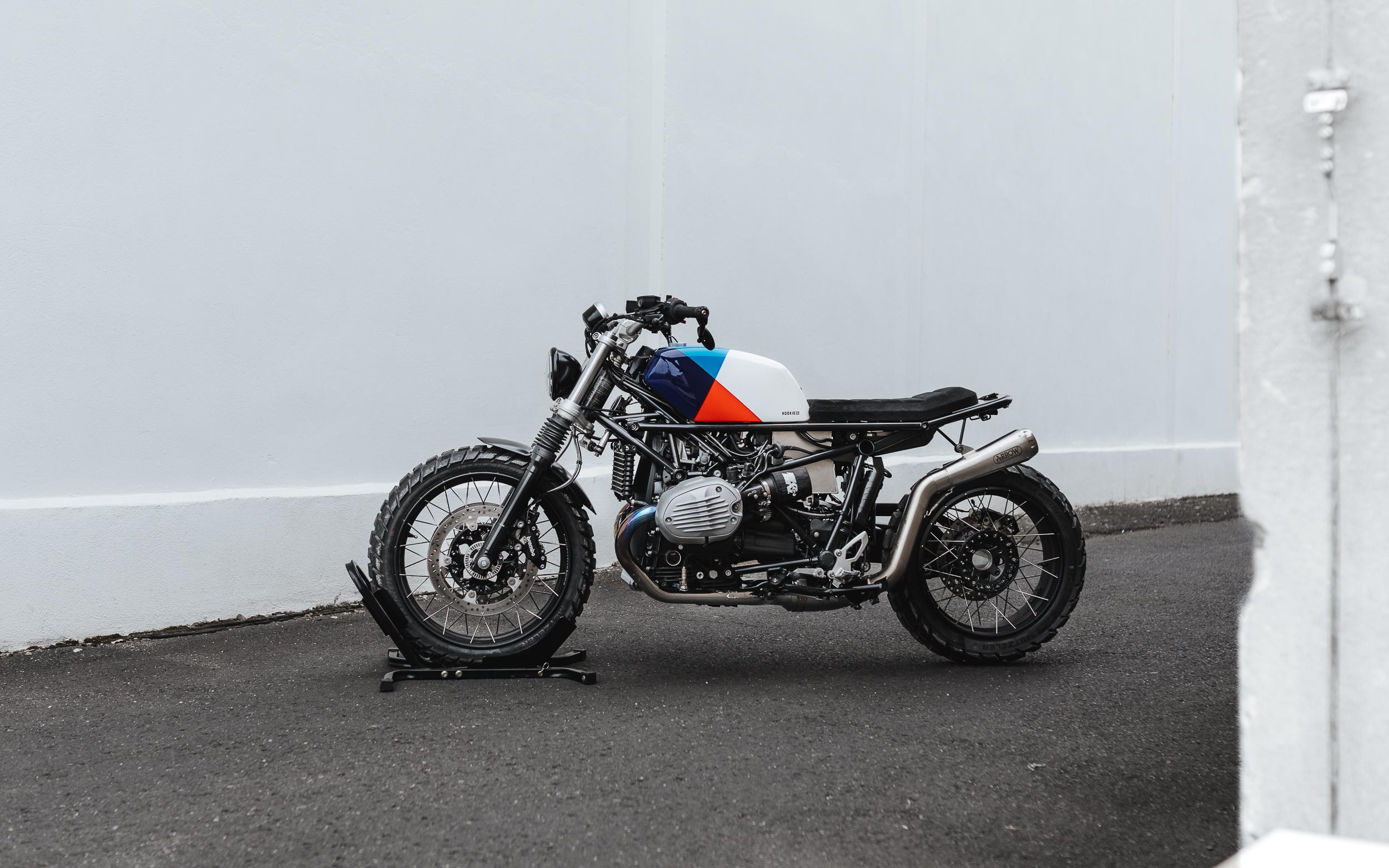 DIY SCRAMBLER MOTO-KIT BMW R NINET