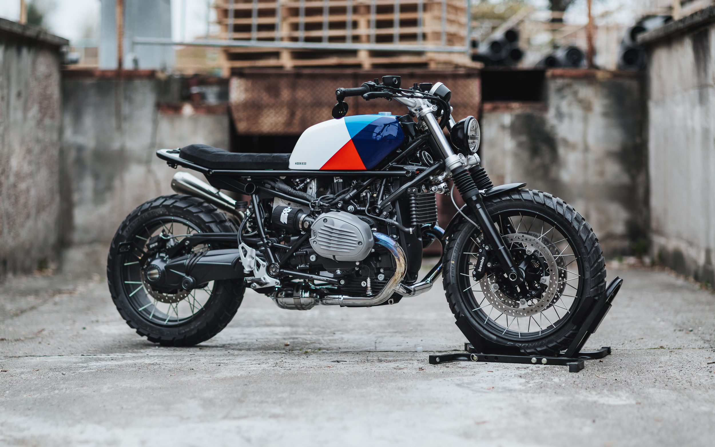 hookie co, DIY SCRAMBLER MOTO-KIT BMW R NINET